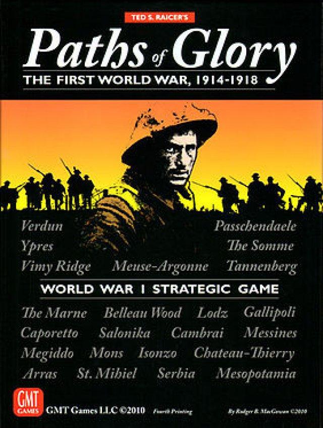 Das beste 2-Personen-Strategiespiel zum Ersten Weltkrieg gibt es nicht digital, sondern am Tisch: Paths of Glory ist eines der besten Wargames.