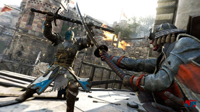 ... in Duellen mit starken Gegnern braucht man Geschick und ein gutes Auge.