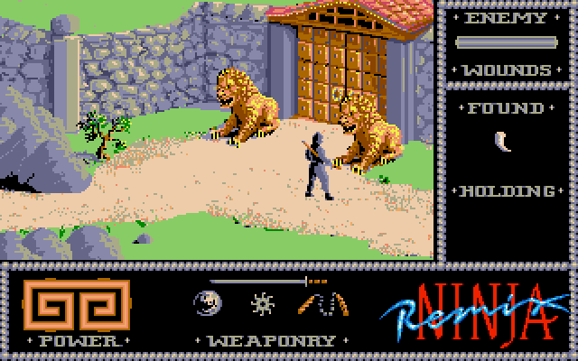 The Last Ninja (Amiga).