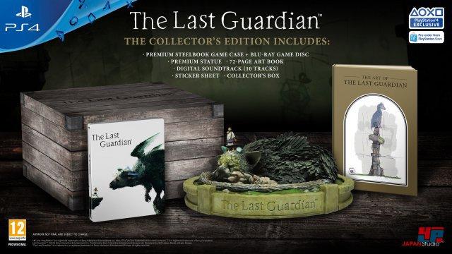 Ein Jahrzehnt nach Shadow of the Colossus erscheint The Last Guardian exklusiv für PlayStation 4.