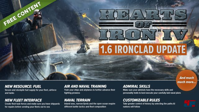 Screenshot - Hearts of Iron 4 (PC)