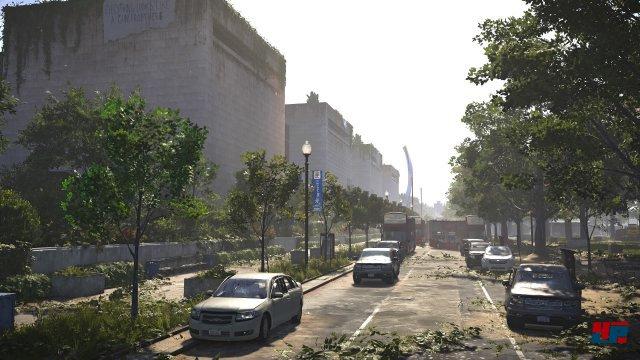 Mit Washington erweckt Massive eine virtuelle Stadt zum Leben, die erstaunlich real wirkt.