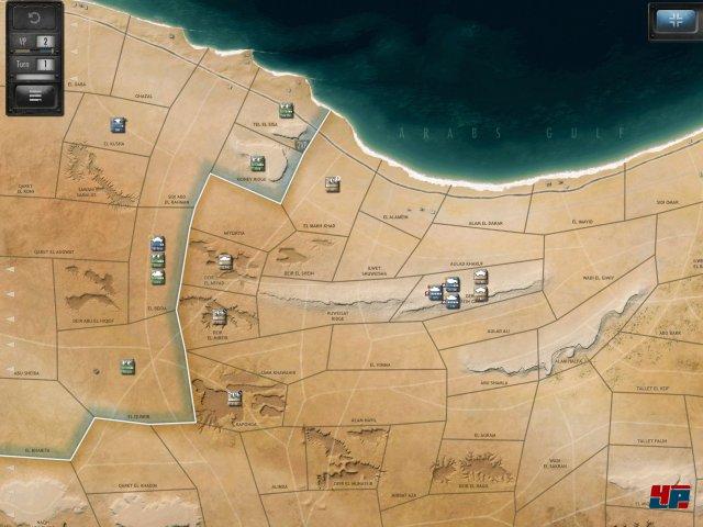 Screenshot - Desert Fox: The Battle of El Alamein (iPad)