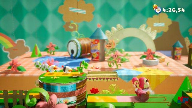 Screenshot - Yoshi's Crafted World (Switch)