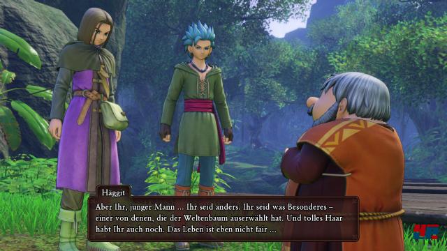 Der Held bleibt in den Story-Sequenzen und Dialogen leider als einziger komplett stumm.
