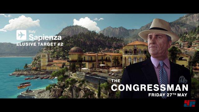 Das zweite Elusive Target ist der Congressman
