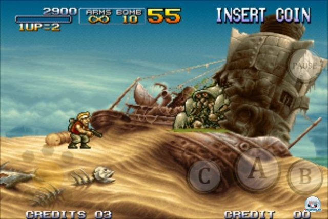 Screenshot - Metal Slug 3 (iPhone)