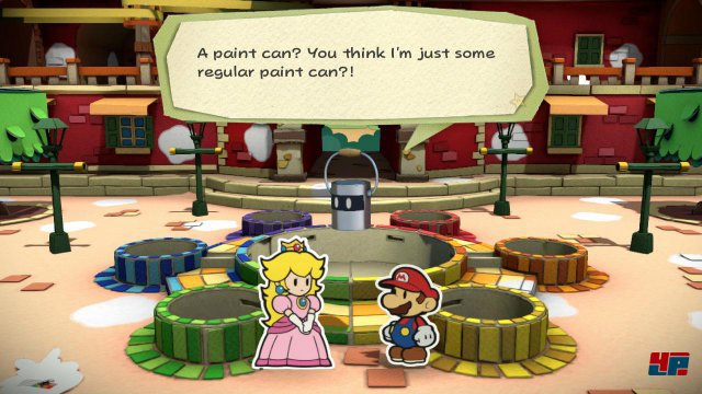 Port Prisma ist ein Urlaubsparadies. Leider können Peach und Mario nicht die Sonne genießen, sondern müssen (wieder einmal) fiese Bösewichte bekämpfen.