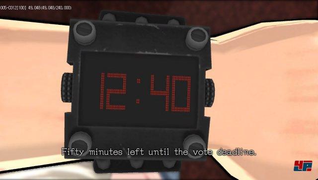Diese Uhren sind fest an den Handgelenken der Geiseln arretiert. Nach einer bestimmten Zeit injizieren sie eine Schlaf- und Gedächtnisdroge.