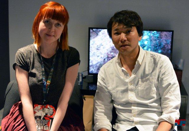 Fumito Ueda im Interview mit Alice auf der E3 2016 in Los Angeles.