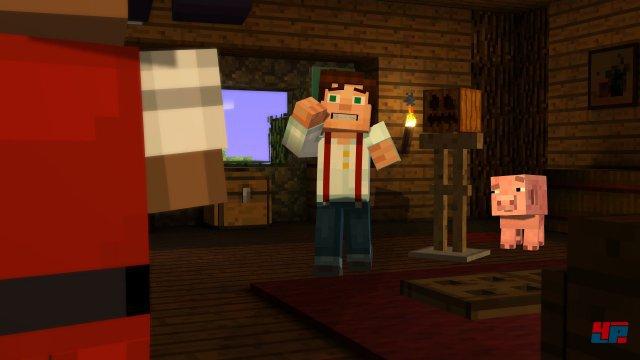 Screenshot - Minecraft: Story Mode - Episode 1: Der Orden des Steins (PC)