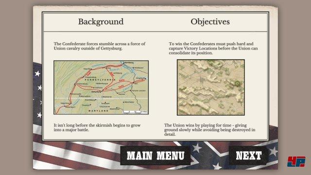 Screenshot - Gettysburg: The Tide Turns (PC)