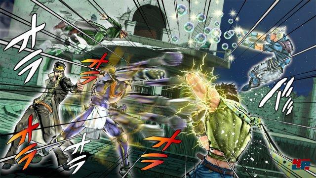 Screenshot - JoJo's Bizarre Adventure: Eyes of Heaven (PlayStation3)