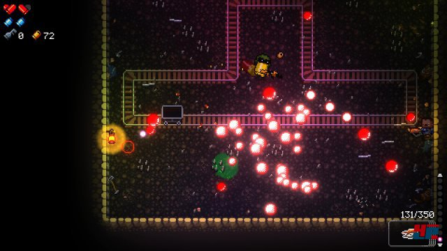 Enter the Gungeon mischt Dualstick-Action mit Shmup und verfrachtet die Ballerei in zufällig generierte Räume