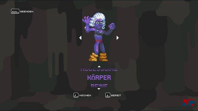 Der neue Charakter-Editor erzeugt witzige Kämpfer-Kreationen.
