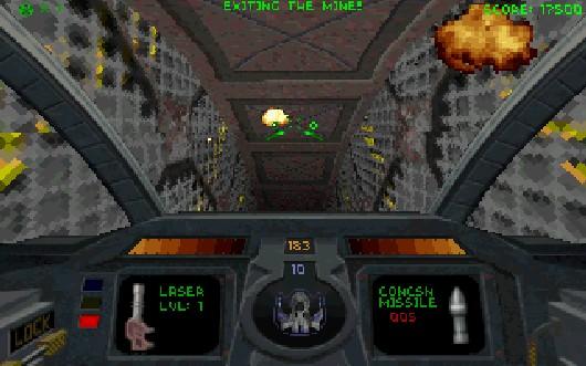 Im Jahre 1995 sah die Welt für Shooterfreunde noch relativ platt aus: Mit dem Erfolg des hierzulande indizierten Doom kamen die Nachfolger aus allen Löchern gekrochen, die dem 2 1/2D-Anspruch des Originals treu blieben. Auf der anderen Seite gab es da Flugsimulatoren wie Origins Strike Commander, denen aber die schnelle Action eines Shooters fehlte. Auftritt: Descent. Parallax Software versetzte euch hinter das Steuer eines Minengleiters, mit dem ihr durch verzweigte 3D-Labyrinthe fliegen und Gefangene befreien musstet. Oh, und da waren ja noch die durchgeknallten Roboter, die sich euch und eurem Laser in den Weg stellten! Descent verzichtete als einer der ersten Titel auf Sprites und bot stattdessen eine glaubwürdig wirkende Polygon-3D-Welt mit komplexer Gangstruktur, bei denen die Worte »oben« oder »unten« keine Bedeutung mehr hatten, dazu gab's tolle Lichteffekte, intelligente Gegner, harte Bosskämpfe - und nicht zu vergessen einen großartigen Mehrspielermodus! 1711269