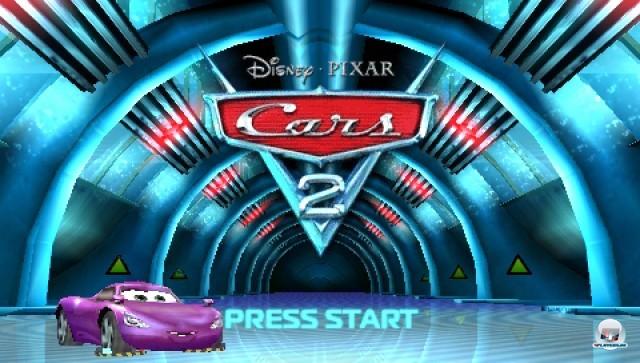 Screenshot - Cars 2 (PSP)