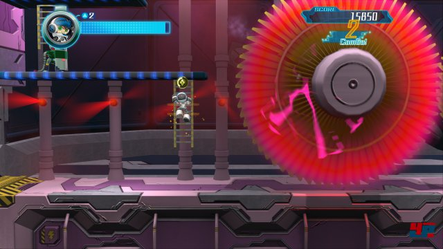 Plattform-Action ganz alter Schule in farbenfroher Kulisse: Das ist Mighty No 9.