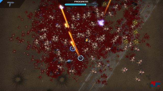 Screenshot - Crimsonland (PC)