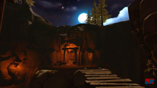 In Vanishing Realms teleportiert man sich von Ort zu Ort.