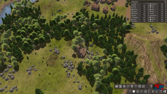 Ein Forststand ermöglicht das schnelle Bepflanzen geroderter Wälder und sichert so die Versorgung mit Bau- und Brennholz.