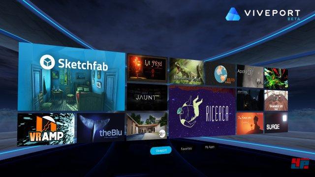 Viveport ist ein App-Store für Virtual Reality