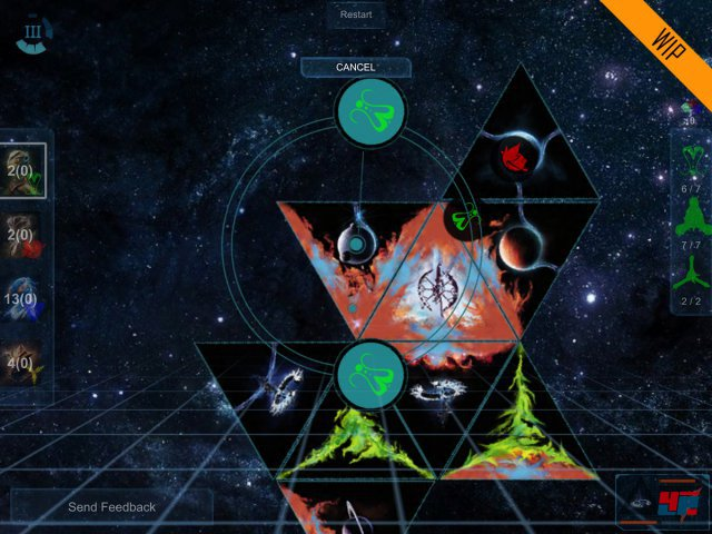 Screenshot - Galaxy of Trian (iPad)