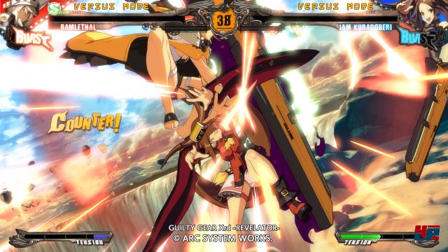 Screenshot - Guilty Gear Xrd -Revelator- (PlayStation3)
