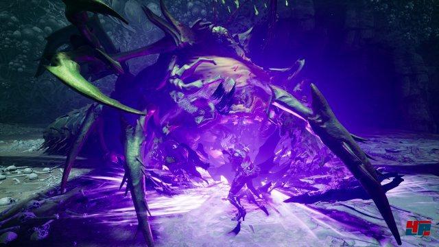 """Mit aktiviertem """"Macht-Hollow"""" hat man nicht nur einen Hammer im Kampf zur Verfügung - auch bei der Levelerkundung ergeben sich neue Möglichkeiten."""
