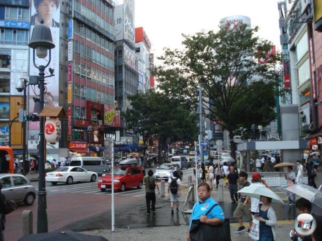 Und auch dafür hat Japan ein nie seine Wirkung verfehlendes Wundermittel: Regen in Shibuya. Mist, elender! 2150863
