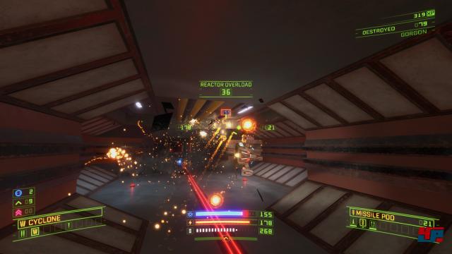 Auf PC gab es Descent - auf Konsole ist ein 6DoF-Shooter dieser Qualität einzigartig. (Xbox One)