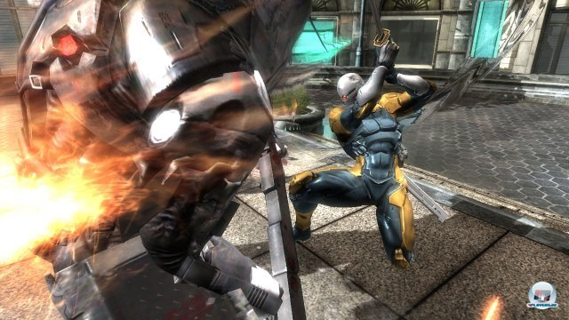 Screenshot - Metal Gear Rising: Revengeance (360)