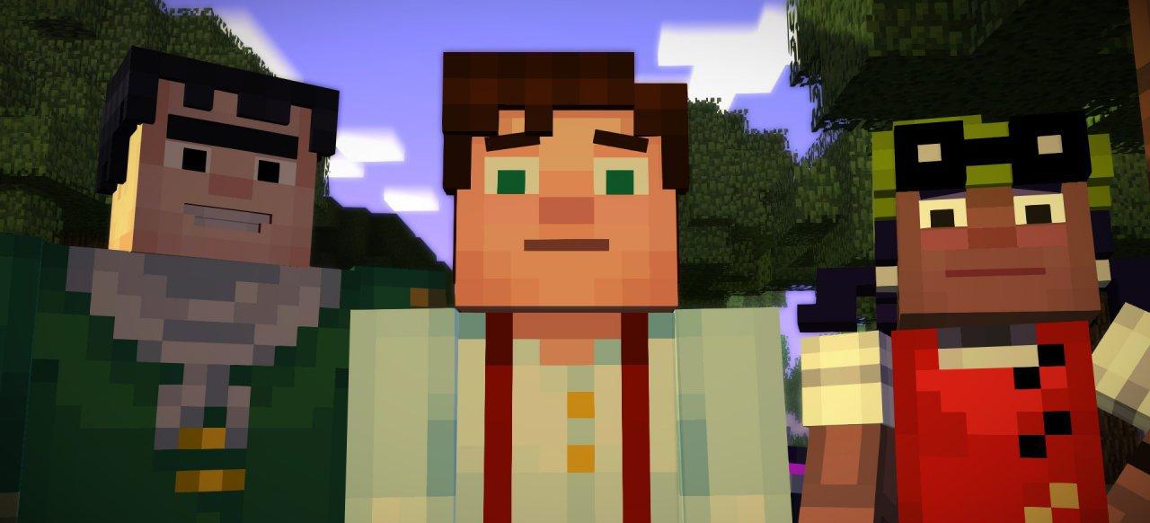Minecraft: Story Mode - Episode 1: Der Orden des Steins (Adventure) von Telltale Games
