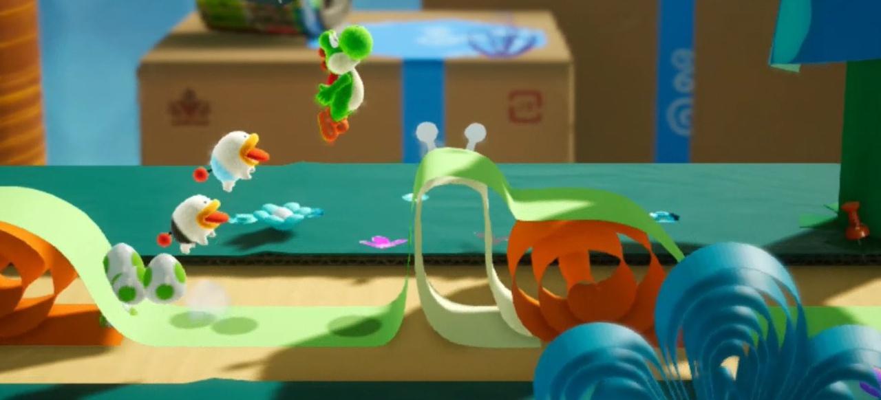 Yoshi's Crafted World (Geschicklichkeit) von Nintendo