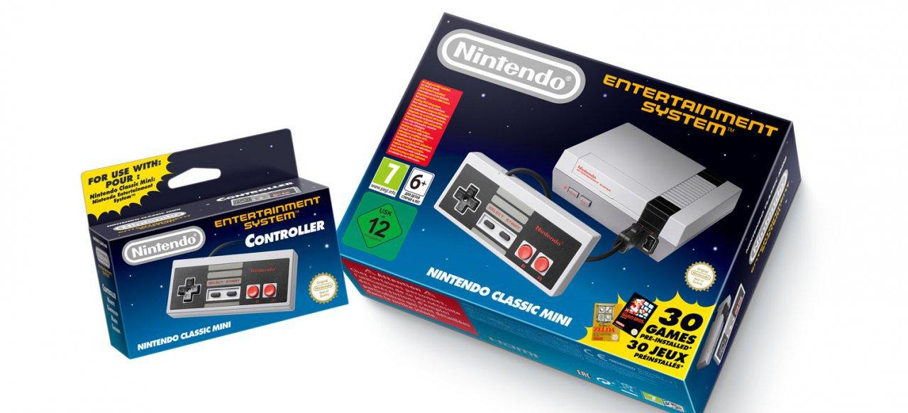 Nintendo Classic Mini: Nintendo Entertainment System  (Hardware) von Nintendo