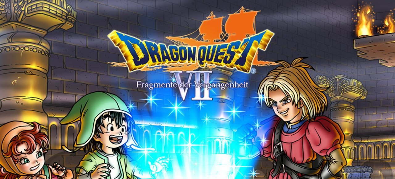 Dragon Quest 7: Fragmente der Vergangenheit (Rollenspiel) von Square Enix / Nintendo