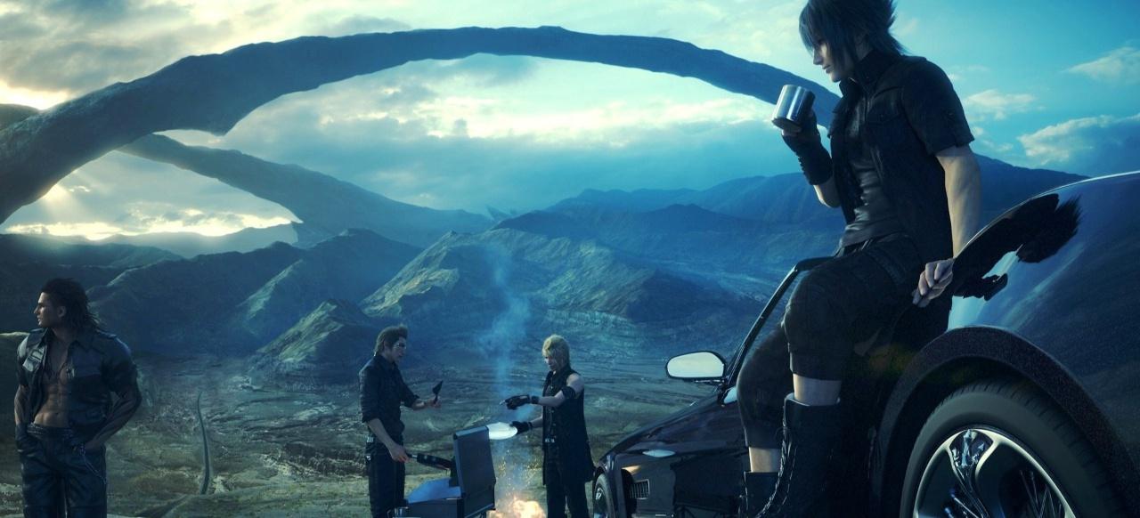 Final Fantasy 15: Rollenspiel-Roadmovie in offener Welt