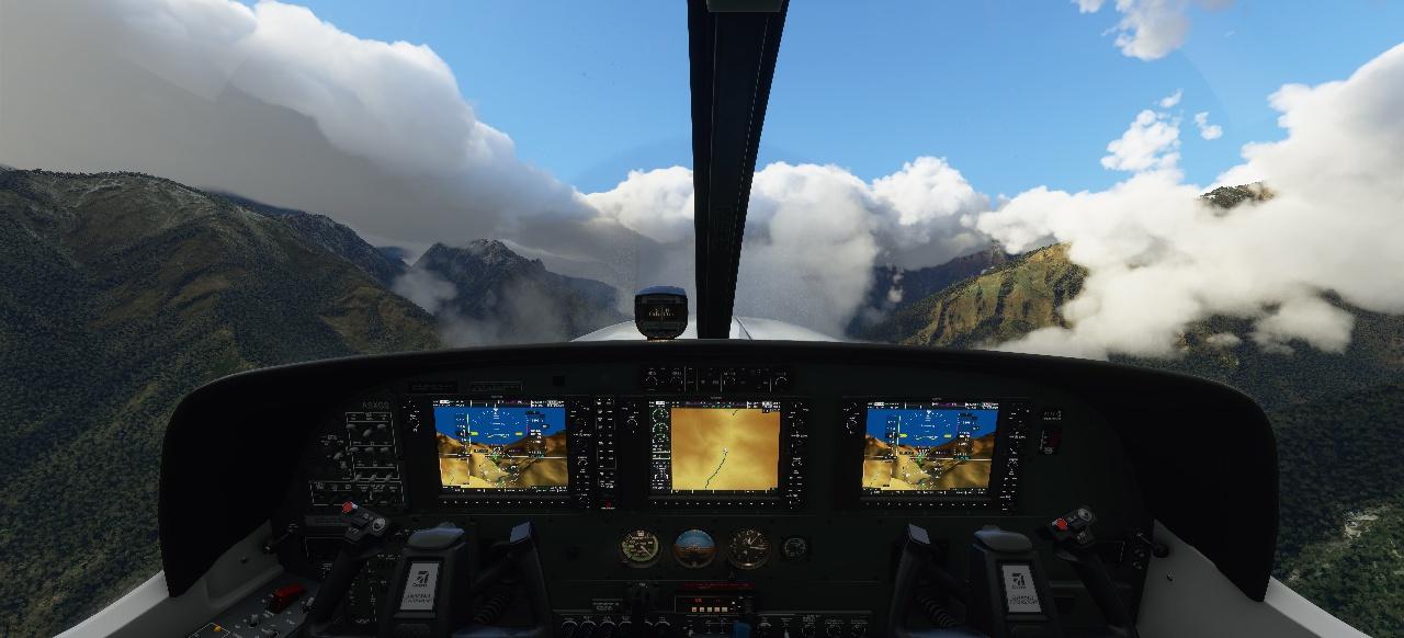 Microsoft Flight Simulator: Die ganze Welt als Flug- und Spielplatz
