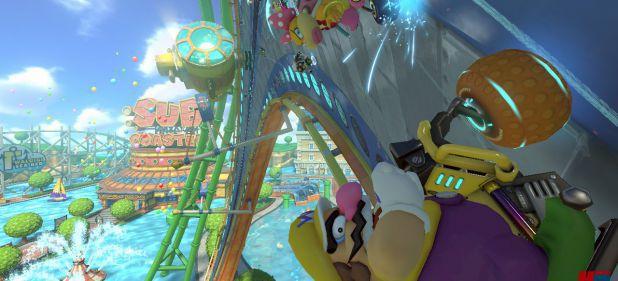Mario Kart 8: Ab an die Decke!