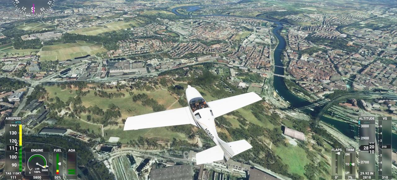 Microsoft Flight Simulator: Von Hamburg bis Hongkong - ein Traum für Piloten?
