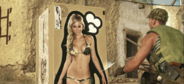 Metal Gear Solid 5: The Phantom Pain: Pappkarton-Babes in Afghanistan