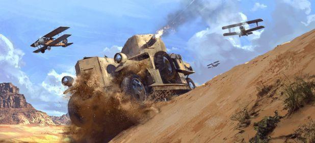Battlefield 1: Hitzige Gefechte in der Wüste mit Pferd, Panzer, Zug und Doppeldecker