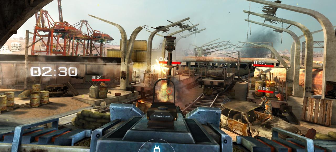 Overkill VR: Krieg in der Hocke
