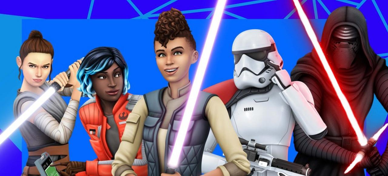 Die Sims 4 Star Wars: Reise nach Batuu-Gameplay-Pack: Lichtschwert und Spionage