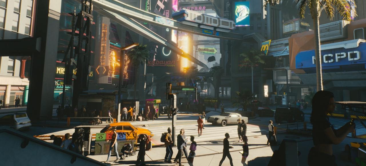 Cyberpunk 2077: Stimmungsvolles Rollenspiel in Pacifica
