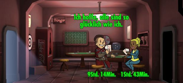 Fallout Shelter: Glücksgefühle im Atombunker
