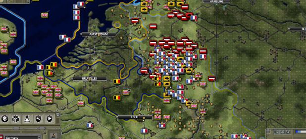 Supreme Ruler: 1936: Komplexe Weltkriegs-Strategie