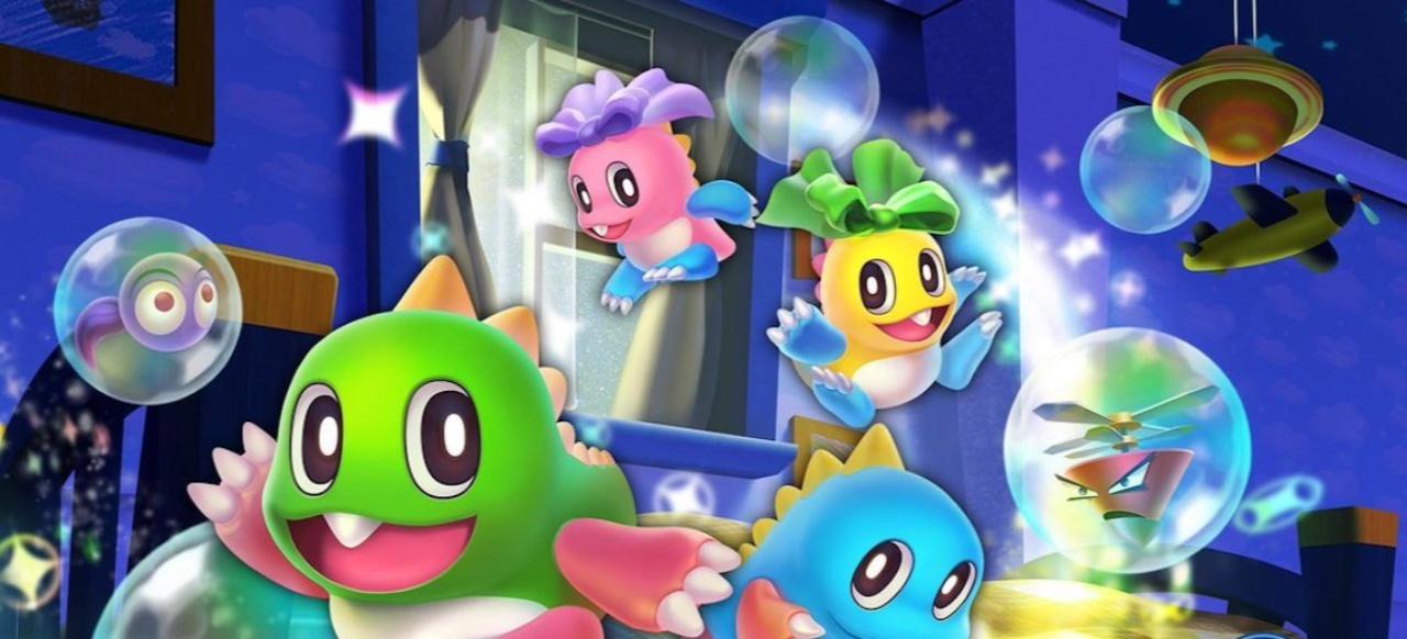 Bubble Bobble 4 Friends: Buntes Arcade-Gewusel