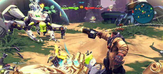 Battleborn: Kunterbunter Arcade-Shooter von Gearbox Software