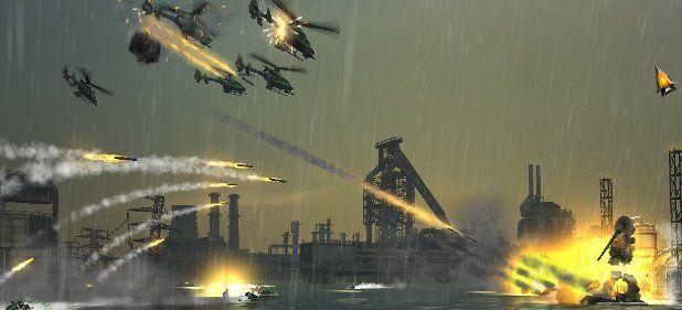 Oil Rush: Erinnerungen an Dune und Command & Conquer